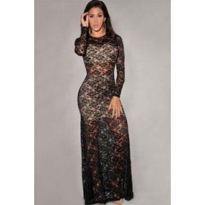 Lace evening dress. Артикул: IXI25228