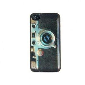 РАСПРОДАЖА! Slider Summaron Camera Style Plastic Case for iPhone 4