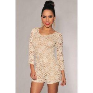 Delicate lace jumpsuit
