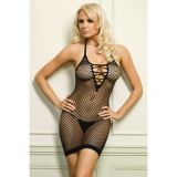 Negligee fishnet