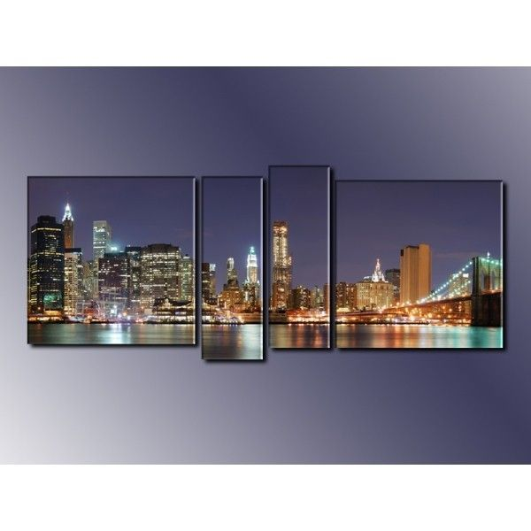 Модульная картина из 4 частей, 160х60