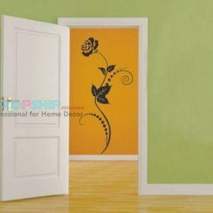 РАСПРОДАЖА! Виниловая наклейка - Цветок - Интерьер, декор