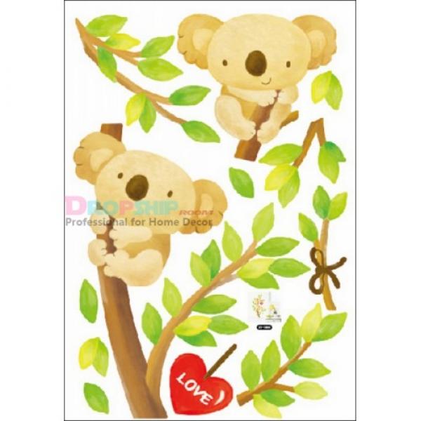 SALE! Vinyl decal - the loving couple bears in a tree. Артикул: IXI25909