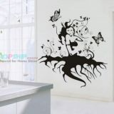 SALE! Vinyl sticker - the girl with the roots