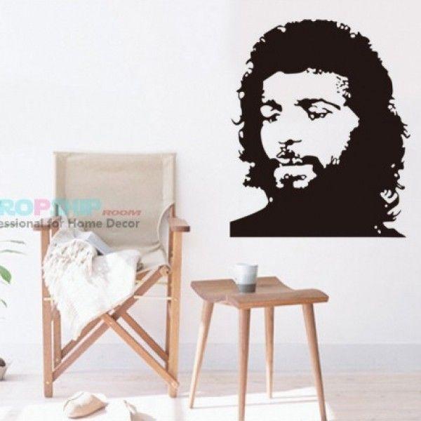 Виниловая наклейка - Портрет человека Че Гевара