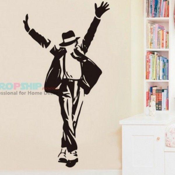 Виниловая наклейка - Майкл Джексон