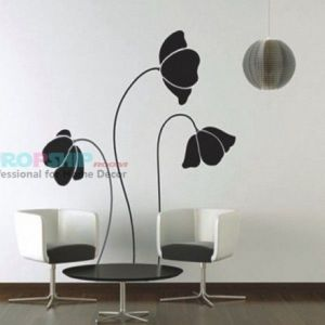 SALE! Vinyl decal - Flowers