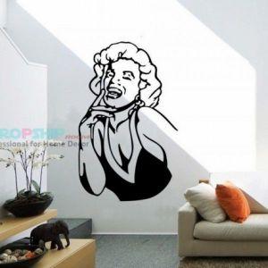 SALE! Vinyl decal - Marilyn Monroe. Артикул: IXI25973