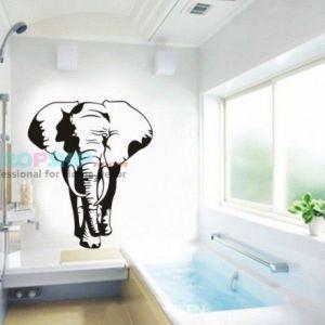 РАСПРОДАЖА! Виниловая наклейка - Слон - Интерьер, декор