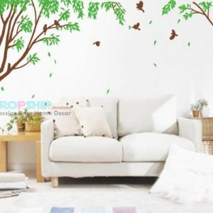 SALE! Vinyl sticker - Tree with leaves
