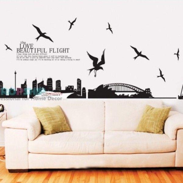 Виниловая наклейка - Город Сидней