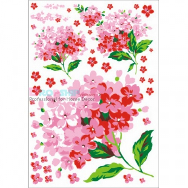 SALE! Vinyl decal - Floral bunches. Артикул: IXI26022