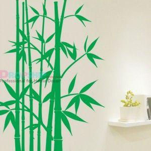 РАСПРОДАЖА! Виниловая наклейка - Зеленый бамбук - Интерьер, декор