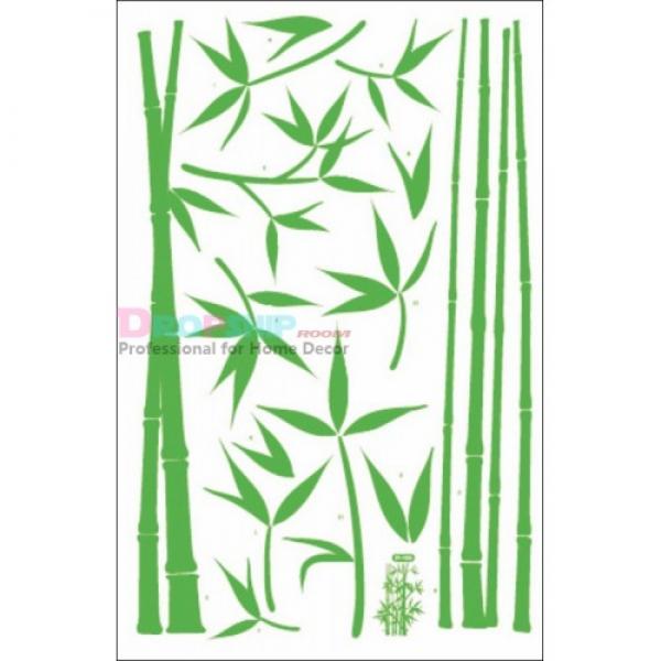 SALE! Vinyl sticker Green bamboo. Артикул: IXI26024