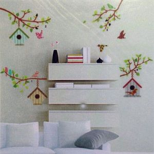SALE! Vinyl decal - Birdhouses