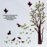 РАСПРОДАЖА! Виниловая наклейка - Птицы и дерево