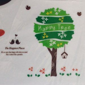 SALE! Vinyl sticker - happy tree