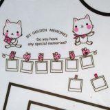 РАСПРОДАЖА! Виниловая наклейка - Hallo kitty рамки для фото по оптовой цене