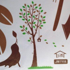РАСПРОДАЖА! Виниловая наклейка - Дерево и птичка - Интерьер, декор