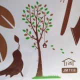 РАСПРОДАЖА! Виниловая наклейка - Дерево и птичка по оптовой цене