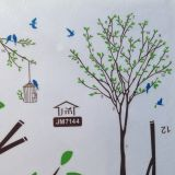 SALE! Vinyl sticker - the Tree, the cage and the birds