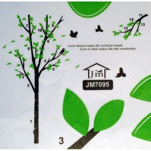 РАСПРОДАЖА! Виниловая наклейка - Дерево с птичками - Интерьер, декор