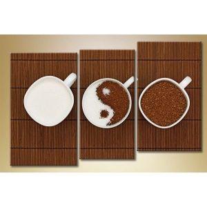 Модульная картина из 3 частей, 140х90 - Интерьер, декор