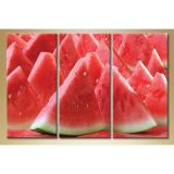 Modular picture in 3 parts, watermelon, 140С…90