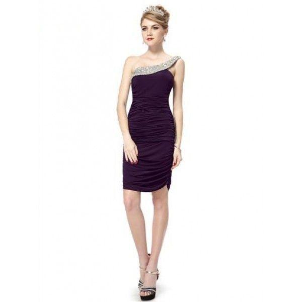 Облегающее платье с гофрированной юбкой