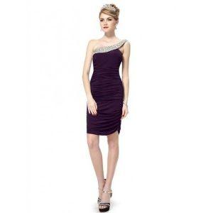 РАСПРОДАЖА! Облегающее платье с гофрированной юбкой - Вечерние платья
