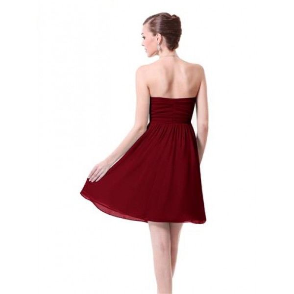 Dress with roses without straps Burgundy. Артикул: IXI26494