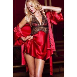 Mini-gown with a robe. Артикул: IXI26589
