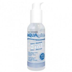 РАСПРОДАЖА! Вагинальная смазка - Aquaglide Glide+Massage 2in1