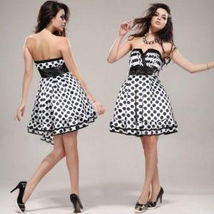 РАСПРОДАЖА! Платье-бандо с гороховым принтом