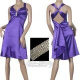 РАСПРОДАЖА! Платье с брошью и перекрестными бретелями вечернее по оптовой цене