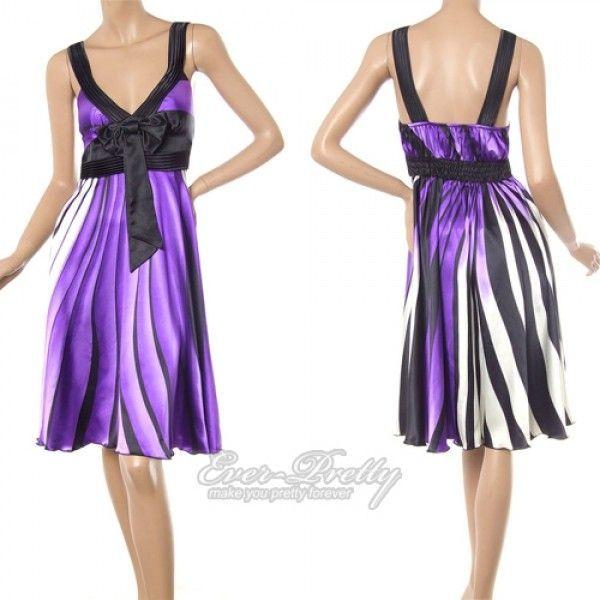 Плиссированное платье с бантом на талии - Вечерние платья