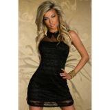 Винтажное платье короткое по оптовой цене