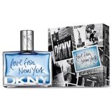 Toilet water, perfume Donna Karan (DKNY) - Love From New Yokr For Men, 100ml