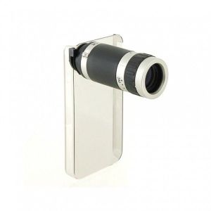РАСПРОДАЖА! 6X Zoom Mobile Phone Telescope for iPhone4 (Black)