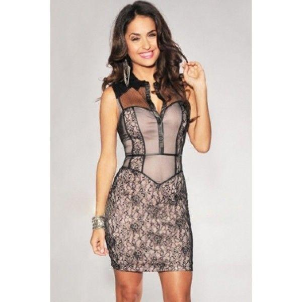Вечернее платье в винтажном стиле