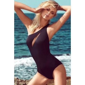 SALE! Black closed swimsuit