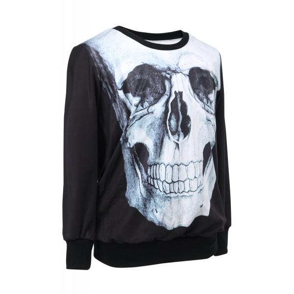 Womens Sweatshirt Skull. Артикул: IXI28642