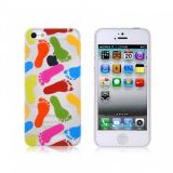 РАСПРОДАЖА! NEWTONS 3D Footprint Pattern Protective Case for iPhone 5 по оптовой цене