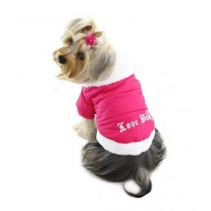 SALE! Coat of soft cotton for dogs