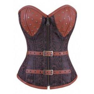 Jacquard corset steampunk. Артикул: IXI29068