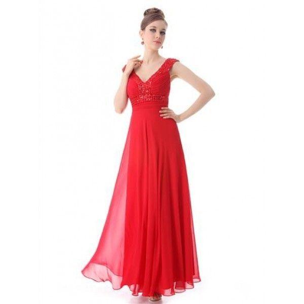Элегантное платье с мерцающими стразами