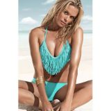 Charming swimsuit turquoise