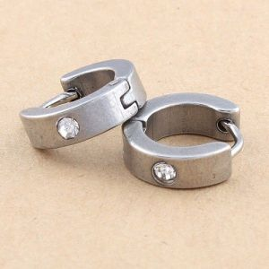 Fashion stainless steel earrings