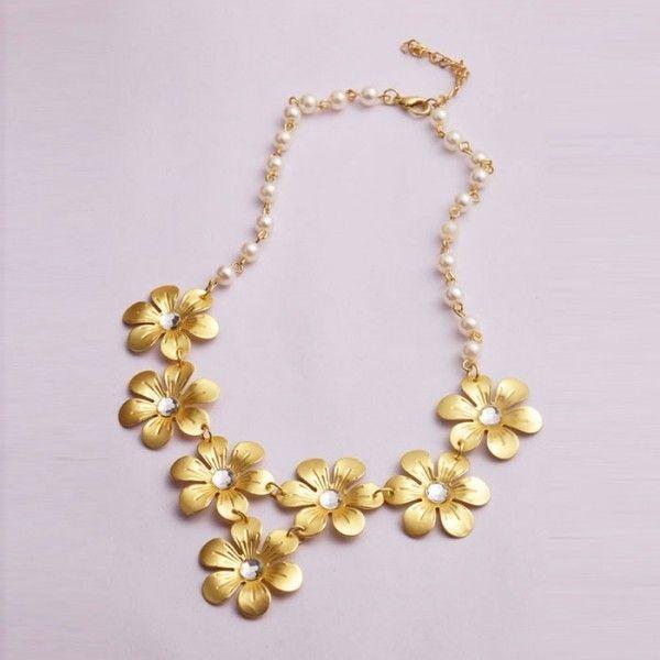 Купить онлайн Золотистое ожерелье с крылышками фото цена акция распродажа