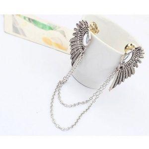 РАСПРОДАЖА! Золотистое ожерелье с крылышками